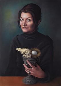 Self portrait Miriam Escofet