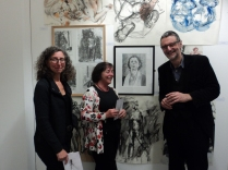 Monica Oldano, Vivienne Dixon and Fred Crayk