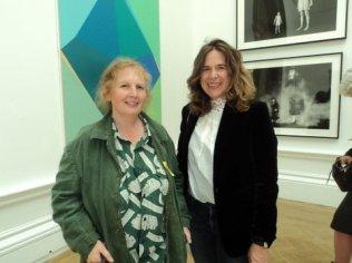 Melissa Scott -Miller and ex portrait Diploma student Helen Lloyd -Elliott