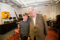 Henry and Sir Alan Parker
