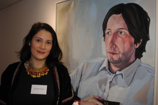 Elizabeth Shields and her portrait of Philip Womack