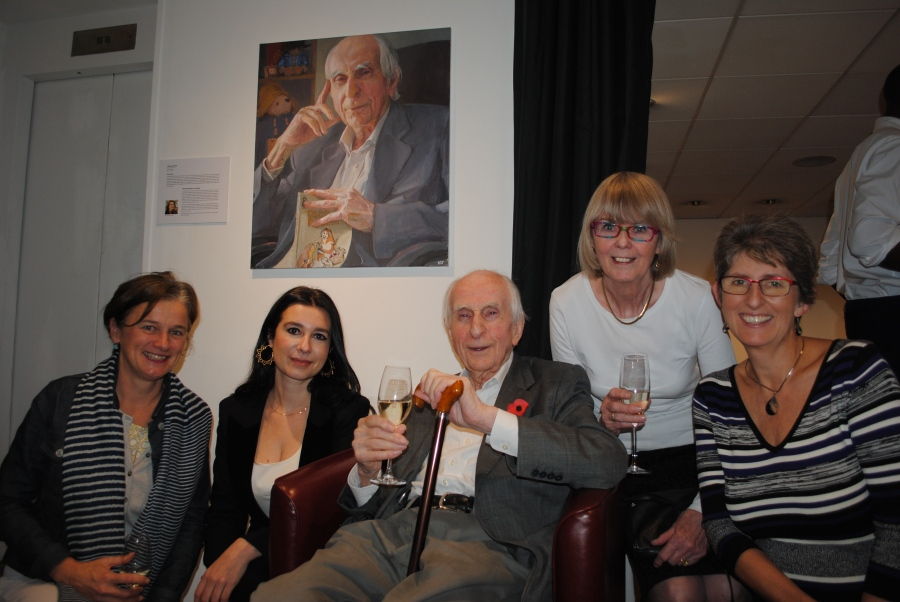 Hilary Delamere, Hero Johnson, Michael Bond, Sue Bond, Karen Bond.