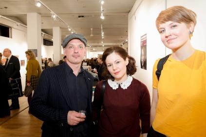 Daniel Bibby, Paulina Pluta and Aino Vaananen