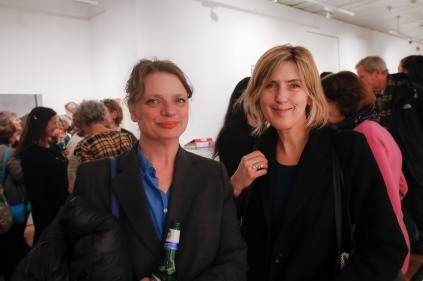 Kate Hopkins and Claudia Carr