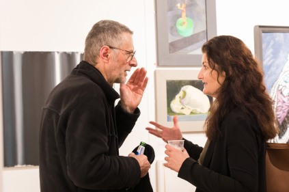 Fred Crayk and Miriam Escofet