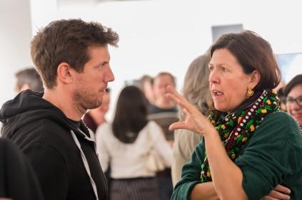 Tim Benson and Rebecca Hathaway