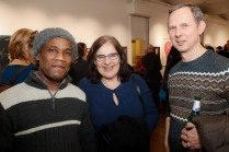 Ron Best, Hilary Daltry and Adam Dabrowski