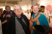 Sir Alan Parker and Lucy Heath