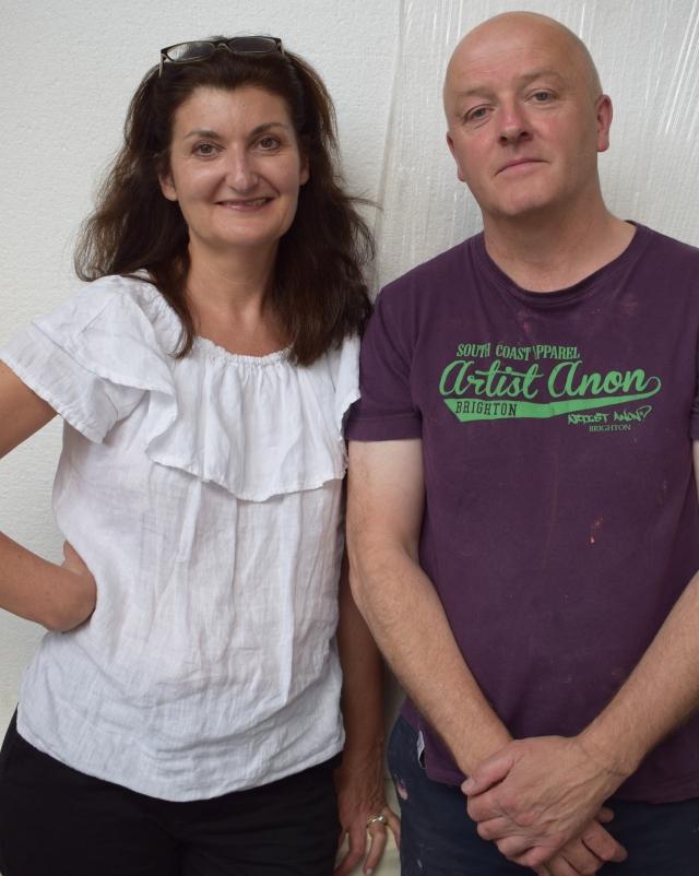 Miriam Escofet and Alan Ramsay